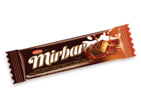 barra de chocolate mirbar zumrut