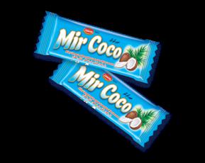 barra de chocolate mir coco colombia zumrut